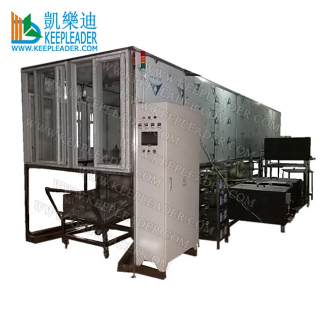 Aluminum tube ultrasonic cleaning machine