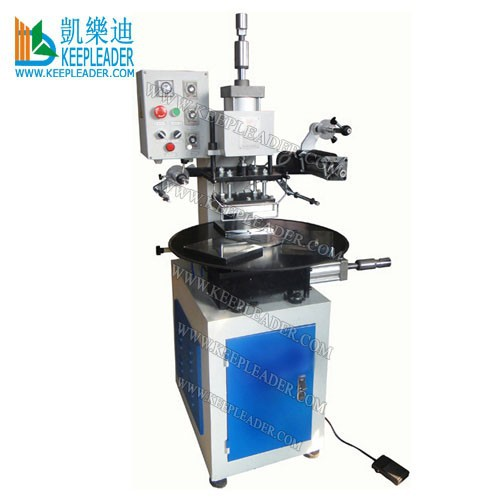 Turntable foil hot stamping machine