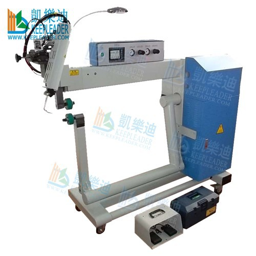Tarpaulin hot air welding machine