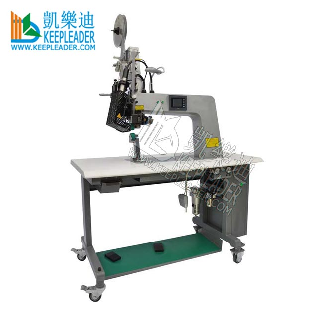 Hot air seam welding machine