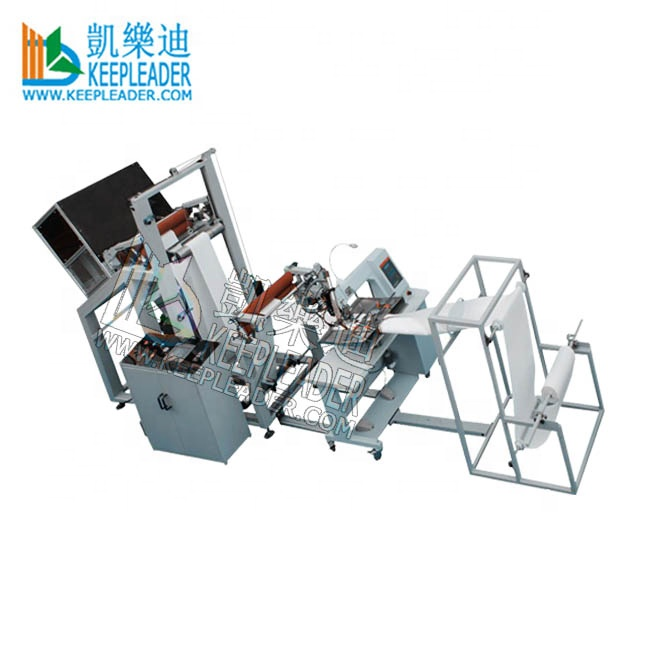 Filter bag seam hot air sealing machine