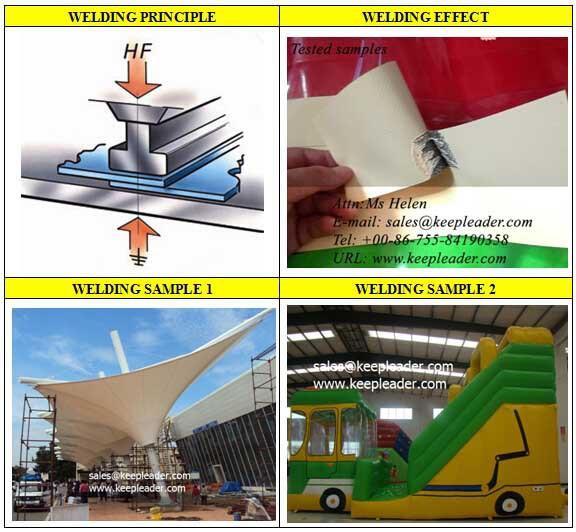 High Frequency Stretch Ceiling Welding Machine Ultrasonic
