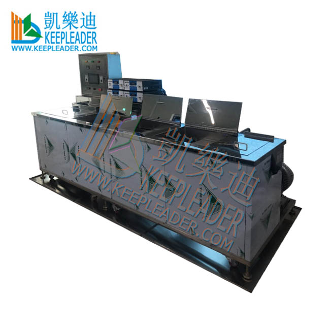 Industrial Multiple Tank Ultrasonic Cleaning Machine for Electronic Parts
