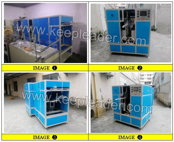 Automatic Cylinder Edge Curling Machine for PVC_PET Cylinder Making Edge Curling