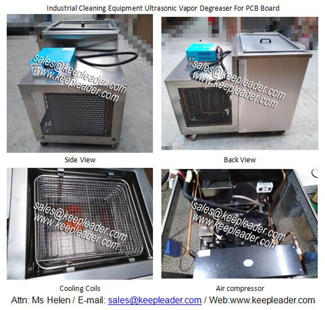 Industrial Cleaning Equipment Ultrasonic Vapor Degreaser For PCB Board