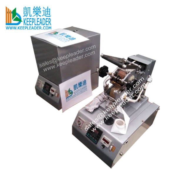 Wire Cable Code Label Mark Hot Stamp Marking Machine