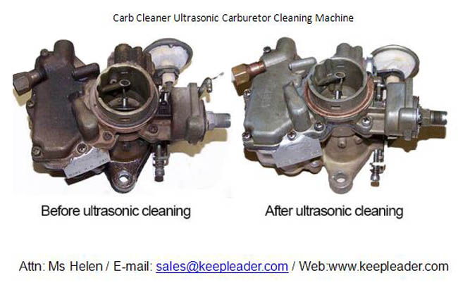 Carb Cleaner Ultrasonic Carburetor Cleaning Machine