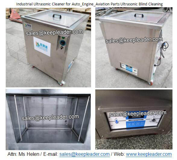 Industrial Ultrasonic Cleaner for Auto_Engine_Aviation Parts Ultrasonic Blind Cleaning